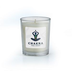 Small Glass Jar Scented Candle